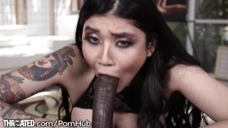 asian wife gagging deepthroat bbc