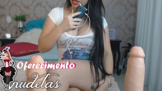 JOI JERK OFF INSTRUCTION ENGLISH AND PORTUGUESE Talking PUNHETA controlada  sexy angel stripper cum fake big ass mandando na punheta punheta controlada roleplay asmr kink joi latina big boobs fetiche adult toys comandando a punheta joi jerk it for me emanuelly raquel