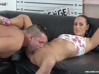 Big guy with small cock dont make really pornstar happy on casting