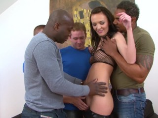 Slave Hubby Teen Gangbang Fucked By 4 Men Hardcore And Rough Big Cocks Black