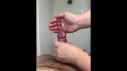 POV handjob in the shower after work!!