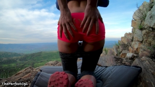 Tinder date idea: Fuck her asshole on a mountain top Socks british