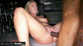 BLACKEDRAW Boyfriend with cuckold fantasy shares his blonde girlfriend  big cock bbc rimjob hairy pussy riding reverse cowgirl cuckold missionary big dick rimming rim doggystyle facial pussy licking blackedraw hairy bush