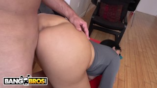 BANGBROS - Valerie Kay's BF Sean Lawless Gets Seduced By Her Busty Roommate Tits style