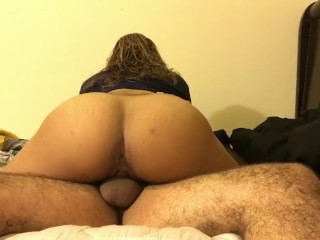 Tip Activated Vibrator Wife Begs Me To Give Her A Creampie, Amateur Big Ass Babe