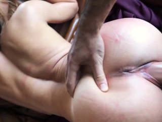Gorgeous Girl Deepthroat and Fucked Hard from behind - LeoLulu