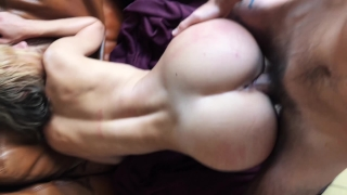 Gorgeous Girl Deepthroat and Fucked Hard from behind - LeoLulu In handcuffed