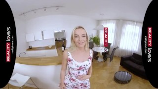 Preview 1 of RealityLovers - Yummy blonde Teen Victoria