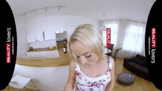 Preview 4 of RealityLovers - Yummy blonde Teen Victoria