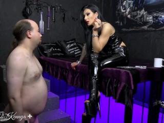 mistress kennya a flabby wanker to humiliate trailer