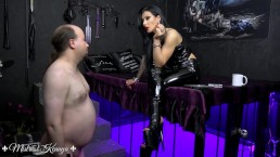 Mistress Kennya: A flabby wanker to humiliate trailer