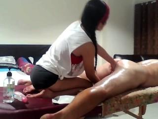 Assian sex masáž