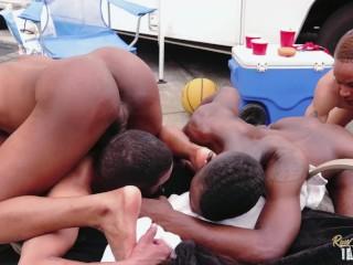 Twink Orgy feat Mr Buck, Ty Woodz, Kannon and Brayden Everett