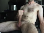Ball bouncing cumshot multiple ropes of cum