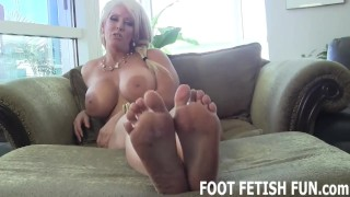 ebony foot fetish tube