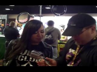 Annie Cruz with Jiggy Jaguar Exxxotica Expo 2018 Denver Co