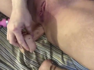 Ass n pussy play