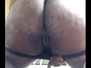 Being bad daddy cum spank me (excuse my butt acne)
