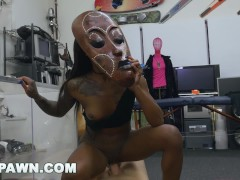 XXXPAWN - Pawn Broker Sean Lawless Goes Lexxi Deep In That Chocolate Ass