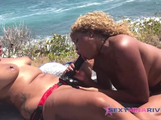 Nina Rivera Loves when Porsha Carrera dominates her with the strapon main image