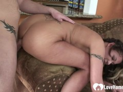 Tattooed MILF gets fucked in various positions