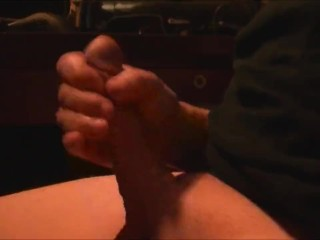 I love to jerk my fat cock to a nice cumshot don't you
