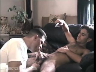 Making Straight Boy Paulie Cum