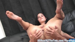 Tattoo'd babe Tricia Oaks Get Fucked in Gaping Ass at AllAnal!