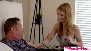 Caught Fucking Step Daughter For Fathers Day S3:E2 - My Family Pies Solo blonde