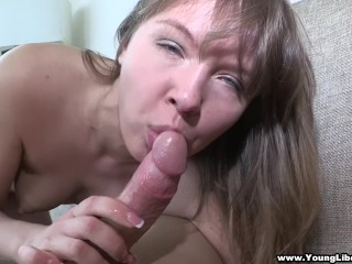 Young Libertines – Aubrey – Playful girlfriend loves to fuck