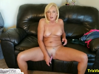 Step Mommy's JOI Skype Call with Her Son Ricky