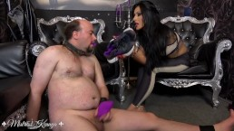 Mistress Kennya: A sweaty sock wank trailer