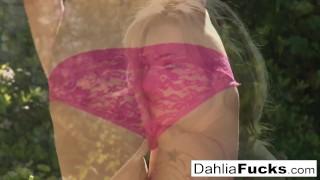 Sexy dahlia's solo outdoor sensual heels