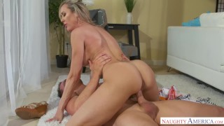 Milf fucks hung young love stud brandi lines friends