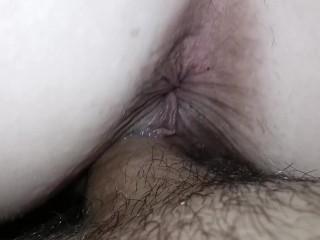 Big white ass small waist