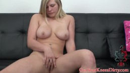 new girl in the biz first time blowjob on camera
