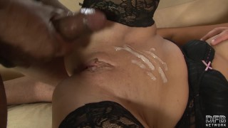 Wife riding black cock while husband watches and masturbates Homemade big
