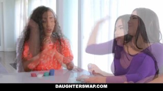 DaughterSwap - Hot Latina Besties Cock Swap  ebony dad black 4some busty orgy bigtits interracial stepdad latina shaved daughterswap latin group daughters demi sutra