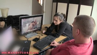 Watching sex with hot step aunt Girl licking
