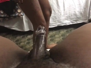 Tightest Pussy Ever! SuperGrip! Blac Harley Rides Nut Right On Out of Guy