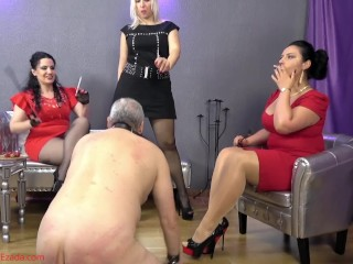 licking the floor under romanian goddesses preview