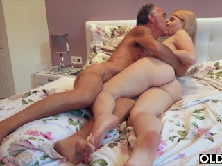 Virgo Peridot Free Nympho Sucks Grandpa Cock And Has Sex With Him In Her Bedroom,