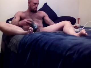 Fucking my home made pussy