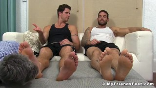 Whore mature man this is worshiping perv a feet older gay