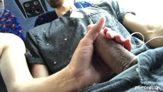 Real Public Bus Girl Swallows My Cum Amateur homemade