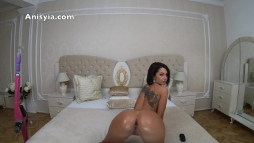anisyia livejasmin 4k oily bubble butt twerking and fingering