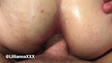 Masked BBW Wife Gives Husband Anal - Butt Plug and Cock In Her Tight Ass