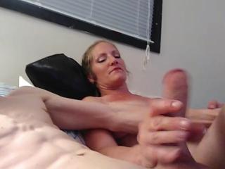 Amazing deep throat big cock