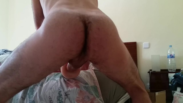 Licking Balls While Cumming