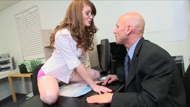 Pictures of sexy secretaries - Redhead secretary plays boss - fuck me hard with your best sales pitch